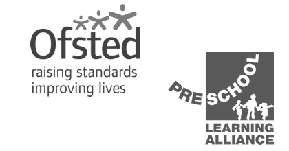 Ofsted and Pre-School Learning Alliance logos